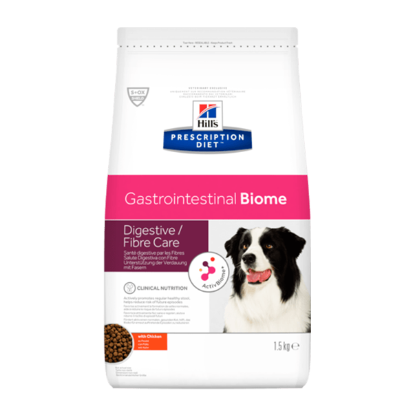Hills Prescription Diet gastrointestinal biome Canino